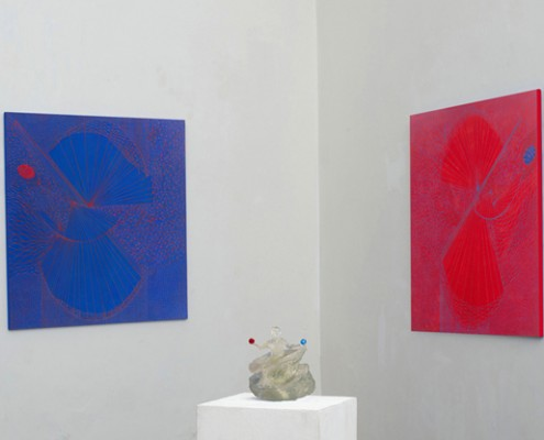 Teresa Iaria Q ticks 2014 installazione per sito
